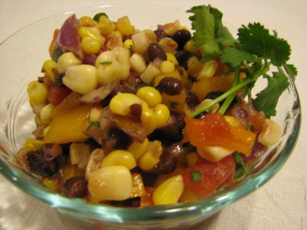 Balsamic Black Bean and Corn Salsa