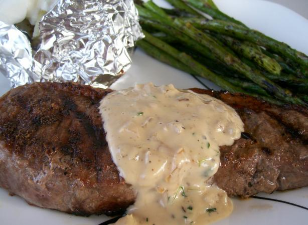 Beef Fillet Steaks With Pepper Thyme Sauce