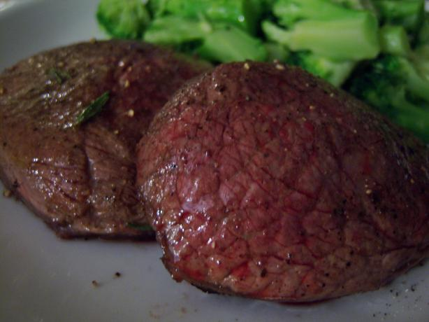 Garlicky Grilled Beef Tenderloin With Herbs