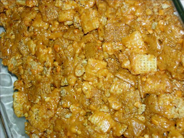 Healthy Peanut Wheat Flax Bars (No Bake)