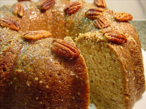 Orange-Pecan-Spice Pound Cake