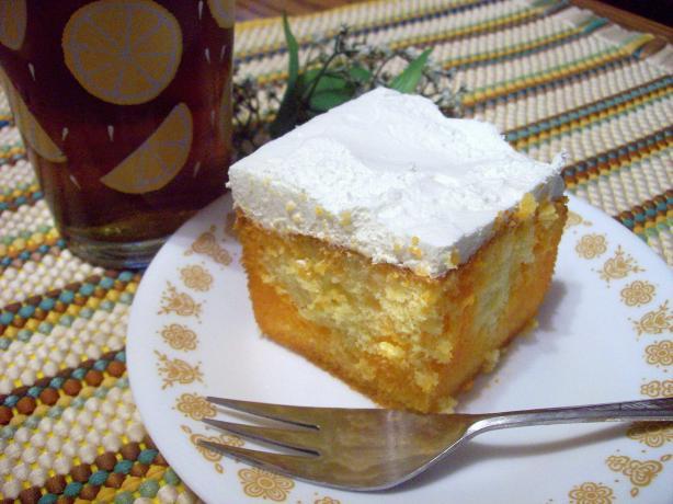 Lemon Orange Rainbow Cake