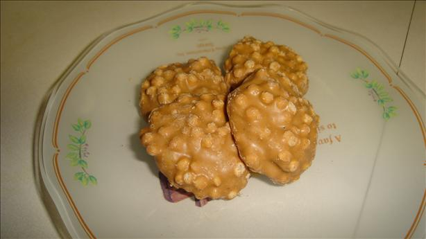 Aunt Anita's No Bake Peanut Butter Krispies