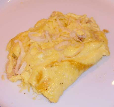 Swiss Smoked Salmon Omelet