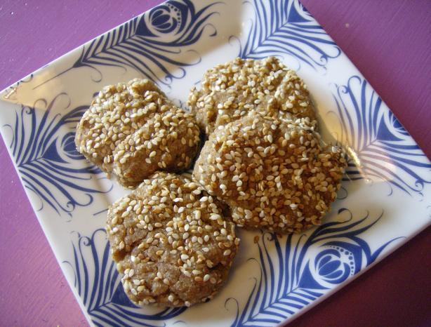 Sesame Seed Snack Cookies