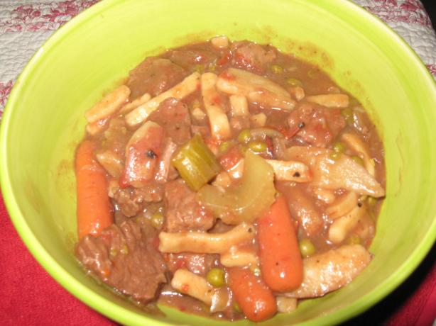 """goulashy"" Beef Stew for the Slow Cooker"