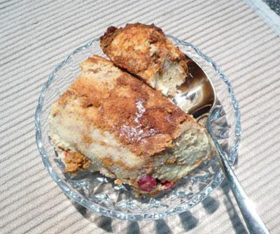 Cranberry-Pumpkin Bread Pudding