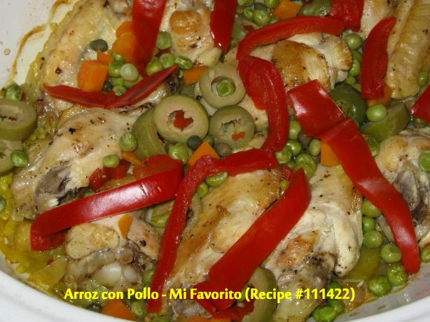 Arroz Con Pollo -- Mi Favorito