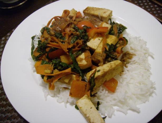Peanut Ginger Tamari Stir-Fry Sauce