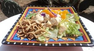 Low Fat Mandarin Chicken Salad