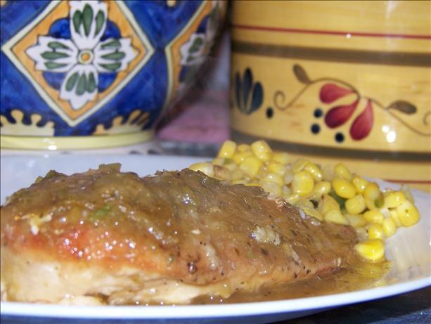 Pollo Con Salsa Verde (Chicken With Green Sauce)