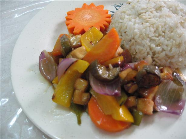 Lychee and Pineapple Stir-Fry Sauce