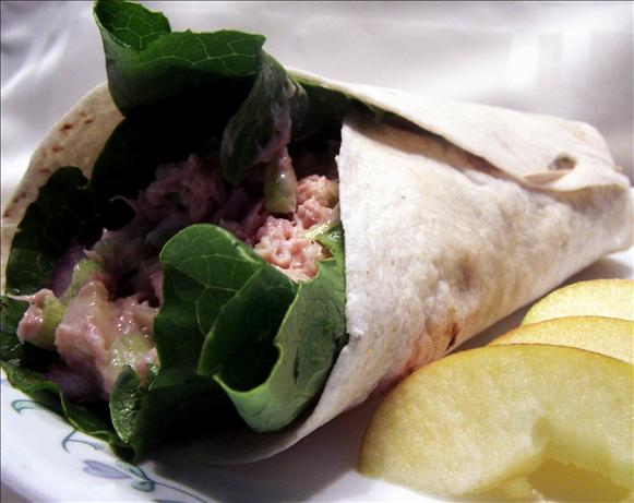 Chunky Tuna Salad Roll-Ups