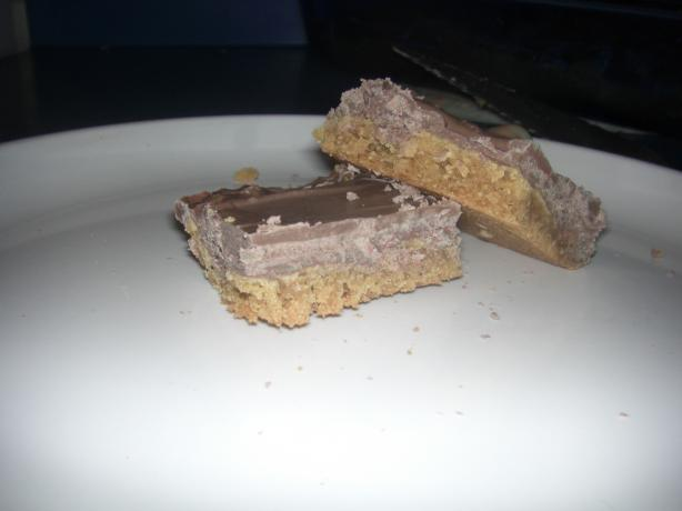 Peanut Butter Candy Bars (Cookie Mix)