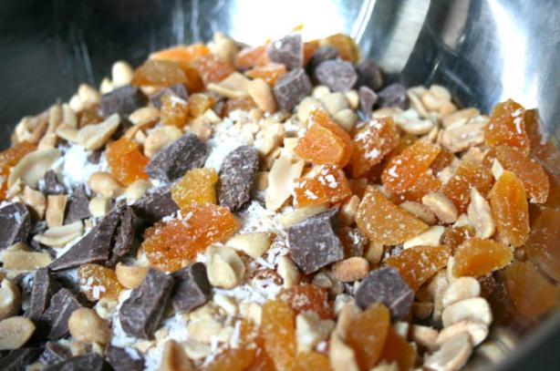 Almond, Apricot and White Chocolate Decadence Bars (Cookie Mix)