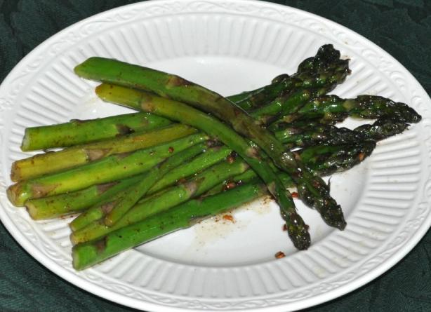 Kittencal's Pan-Fried Asparagus