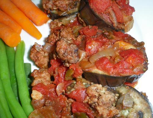 Eggplant (Aubergine) Fit for a Sheik (Sheik Al Mihshee)