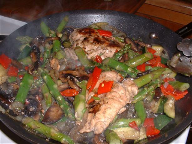 Dj's Chicken & Portabella Mushrooms