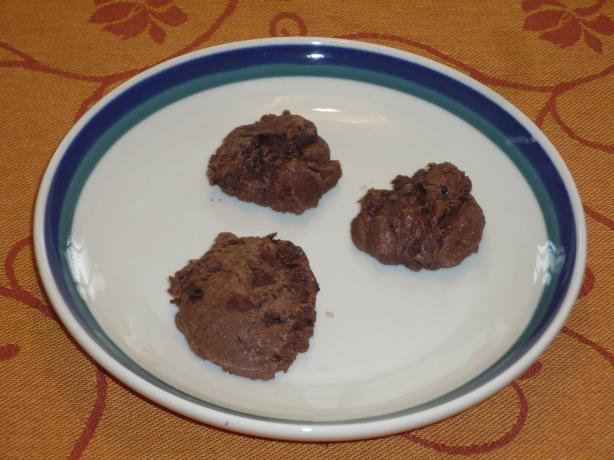 Gluten Free Chocolate Fudge Cookies