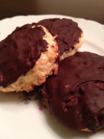 Chocolate Covered Coconut Cake Mix Cookies (Mounds Cookies)