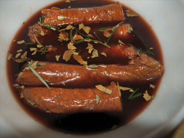 Tapas Style Spanish Rioja Marinated Chorizo Sausage