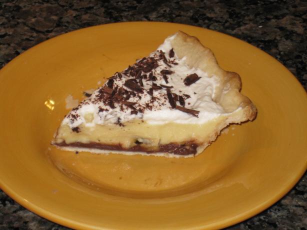 Black Bottom Banana Cream Pie...light Version