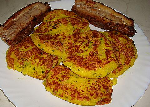 Spicy Indian Potato Cakes