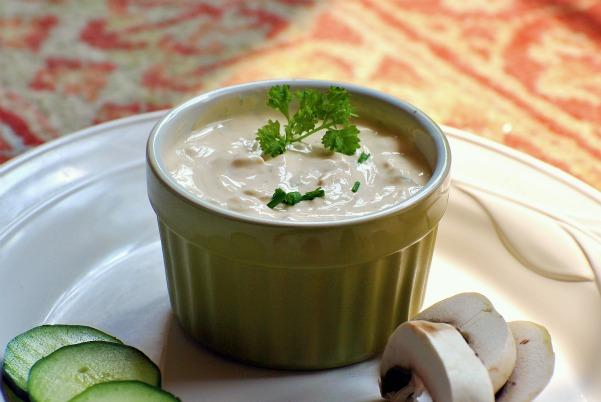 Creamy Goat Cheese Chives Dip