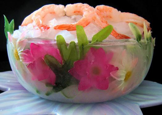 Flower Ice Bowls