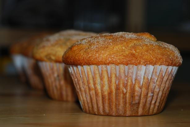 Amazing Apple Nut Muffins