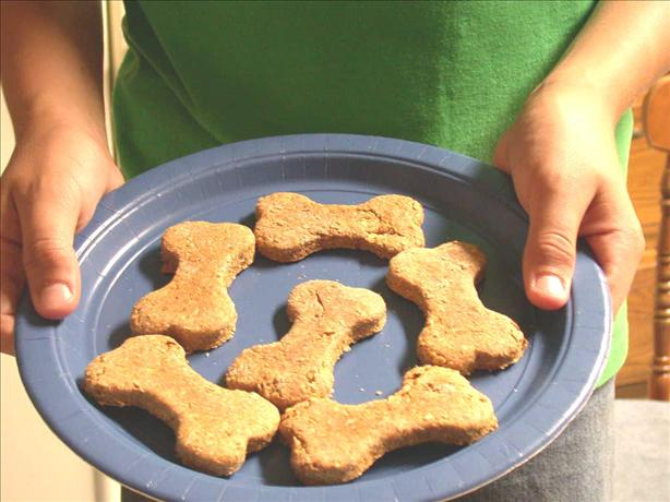 Peanut Butter/Graham Dog Biscuits
