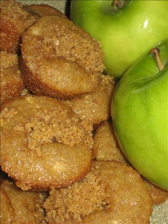 Applesauce Streusel Muffins