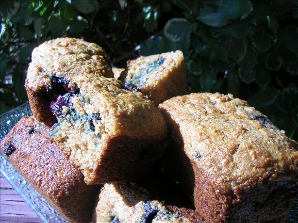Yogurt Blueberry Bran Muffins