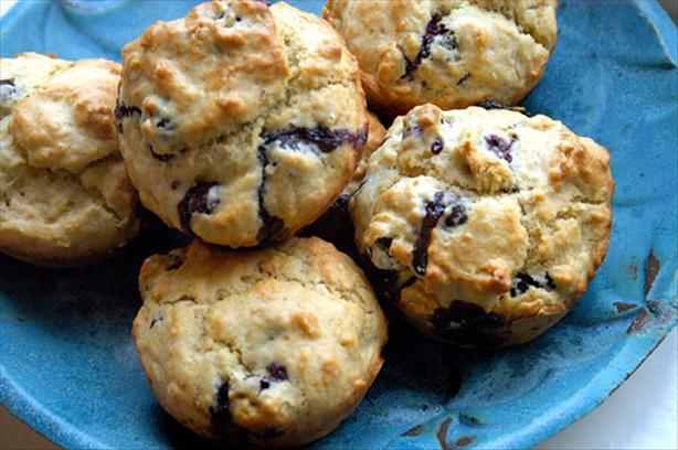 Blueberry Muffins (no Refined Sugar)