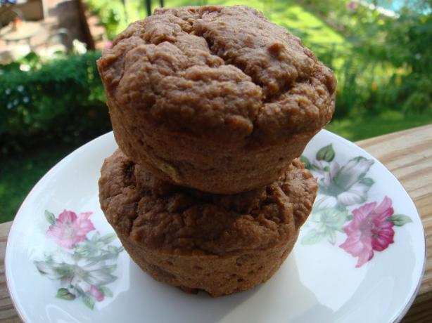Banana-Wheat Germ Muffins (Vegan)