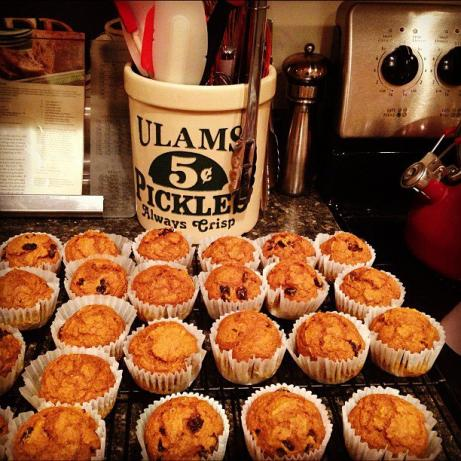 1-Gram Fat Pumpkin Spice Muffins (Low Fat)