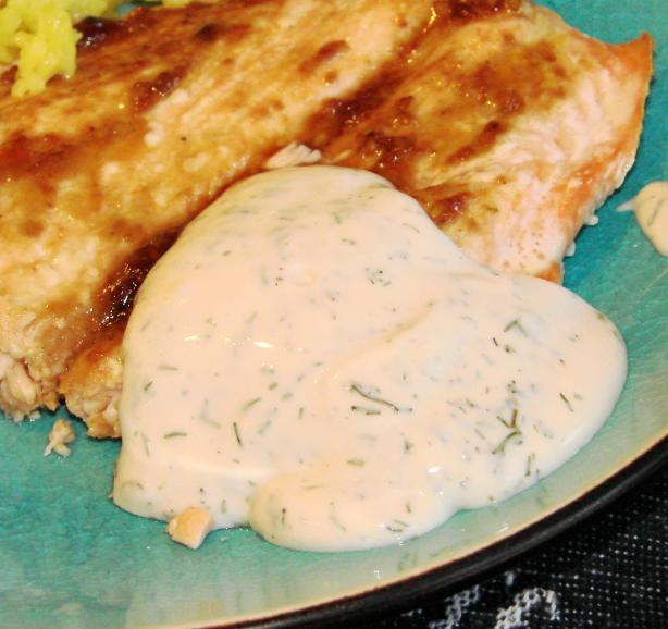 Acadia's Super Easy Dill Sauce