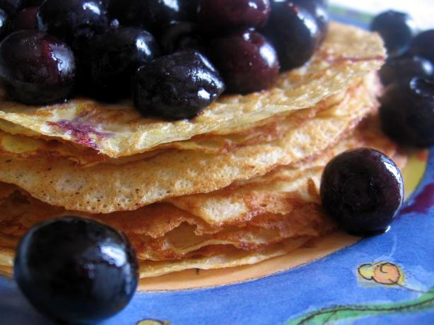 Basic Whole Wheat French Crepes