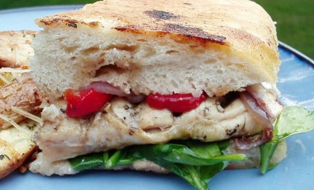 Balsamic Chicken Sandwich (Or Panini)