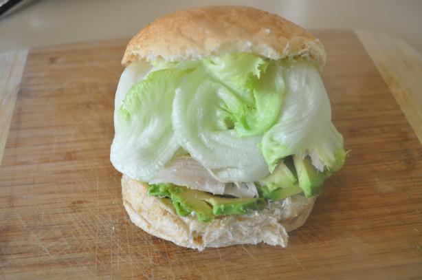 An Easy Chicken-Avocado Sandwich