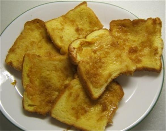 Orange Upside Down French Toast