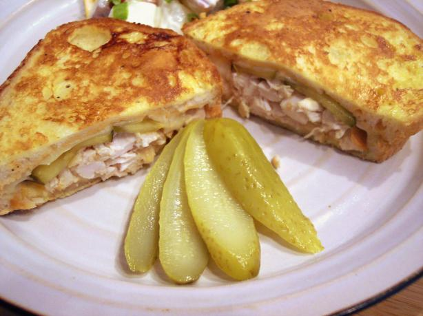 Grilled Swiss Cheese and Chicken Sandwiches