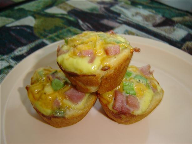 Mini Ham & Cheese Cups