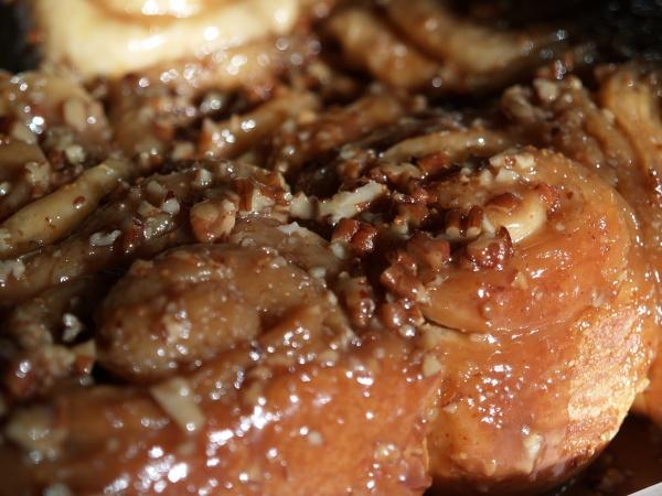 Caramel Pecan Cinnamon Rolls (Bread Machine Recipe)