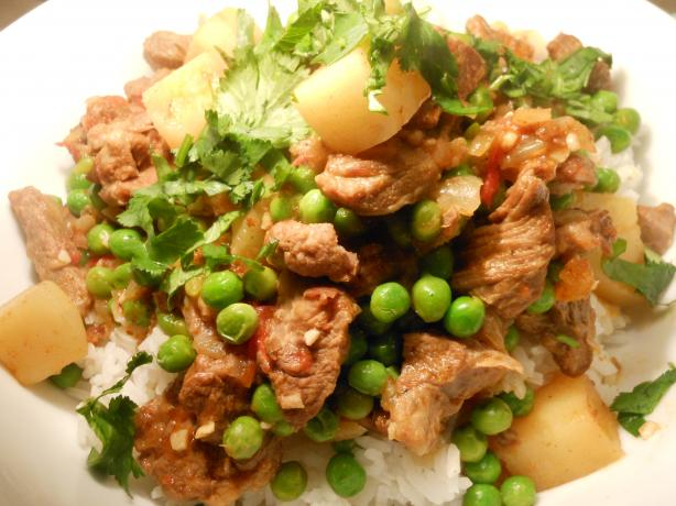 Lamb Vindaloo Curry