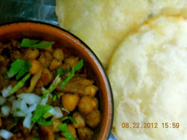 Spicy Channa Masala / Spicy Chole
