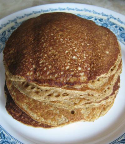Carrot Oat Pancakes (Gluten-Free)