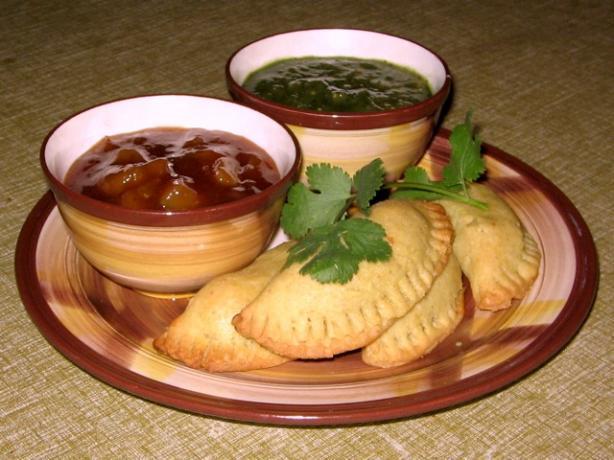 East Indian Vegetable Samosa Pastries