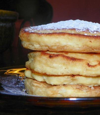 Coconut Cornmeal Pancakes