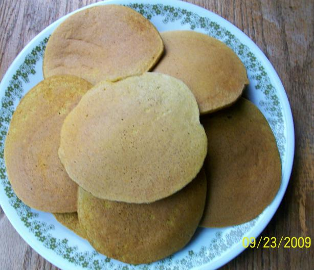 The Best Good for You Whole Wheat Pumpkin Pancakes!
